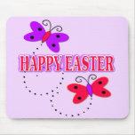 Pascua feliz alfombrilla de ratón