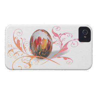 Pascua feliz artística Case-Mate iPhone 4 cárcasas