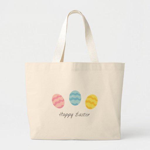 Pascua feliz bolsas de mano