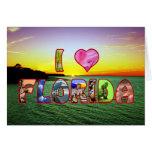 Pascua feliz Callie, *Heart* pintoresco la Florida Tarjeta De Felicitación