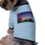 Pascua feliz camisas de mascota