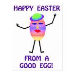 Pascua feliz camisetas y de los regalos del buen d postal