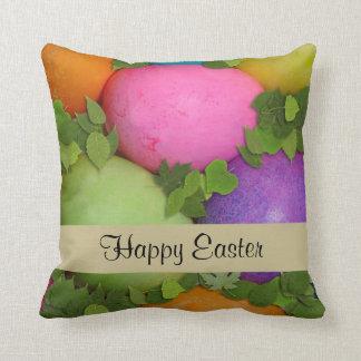 Pascua feliz cojines