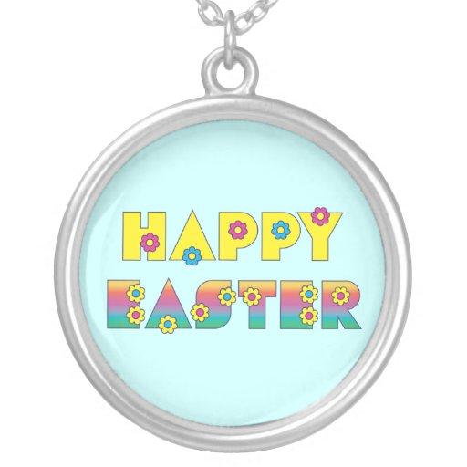 Pascua feliz colgantes