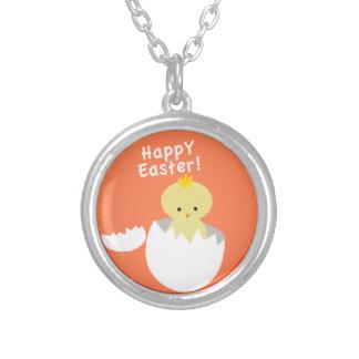 """¡""""Pascua feliz! Collar del polluelo"""""""
