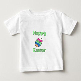 Pascua feliz con el huevo playera para bebé