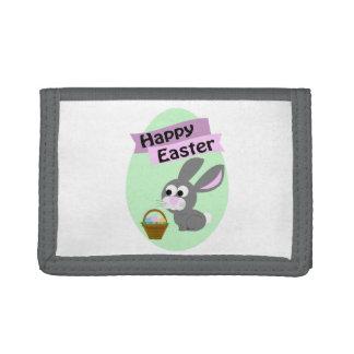 ¡Pascua feliz! Conejito gris