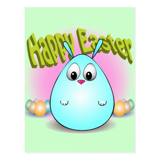 Pascua feliz de giggleBunny Postal