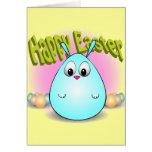 Pascua feliz de giggleBunny Tarjeta