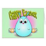 Pascua feliz de giggleBunny Tarjetas