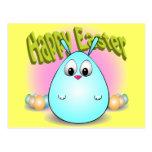 Pascua feliz de giggleBunny Tarjetas Postales