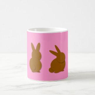Pascua feliz de los conejitos de Choco Tazas