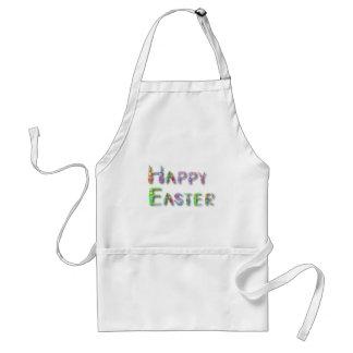 Pascua feliz delantales