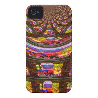 Pascua feliz desea a saludos los gráficos iPhone 4 Case-Mate cárcasas