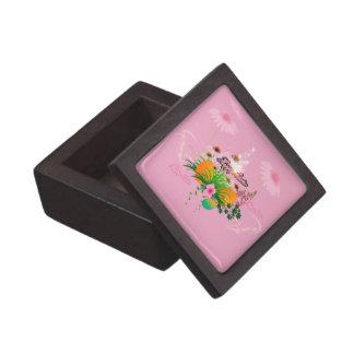 Pascua feliz, diseño de pascua cajas de joyas de calidad
