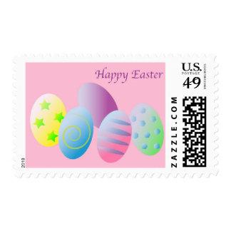 Pascua feliz estampilla