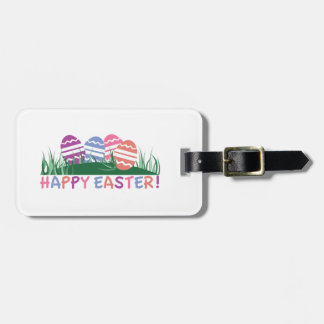 ¡Pascua feliz! Etiqueta De Equipaje