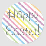 ¡Pascua feliz! Etiquetas Redondas