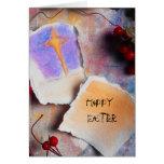 Pascua feliz felicitación