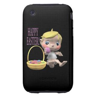 Pascua feliz iPhone 3 tough protector