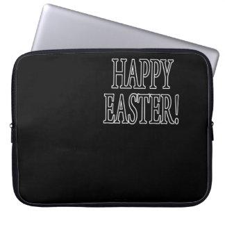 Pascua feliz fundas computadoras