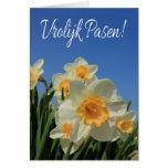 Pascua feliz holandesa Vrolijk Pasen Tarjeta De Felicitación