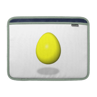 Pascua feliz - huevo amarillo funda para macbook air