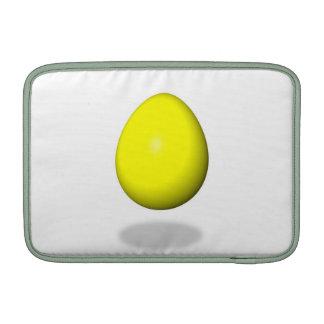 Pascua feliz - huevo amarillo fundas macbook air