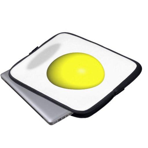 Pascua feliz - huevo amarillo mangas portátiles