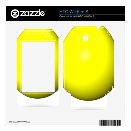 Pascua feliz - huevo amarillo calcomanías para HTC wildfire s