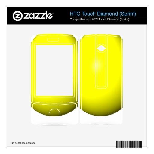 Pascua feliz - huevo amarillo HTC touch diamond skin
