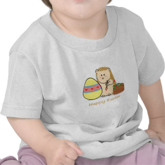 Pascua feliz: Huevo lindo de la pintura del erizo Camiseta