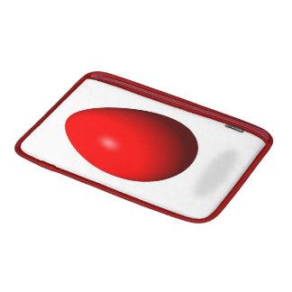 Pascua feliz - huevo rojo fundas macbook air