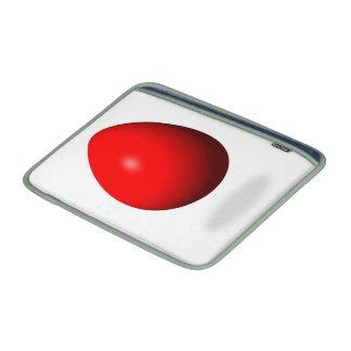 Pascua feliz - huevo rojo fundas para macbook air