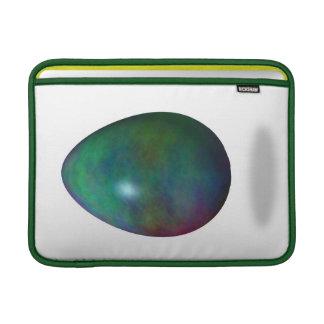 ¡Pascua feliz! - Huevo verde Fundas MacBook