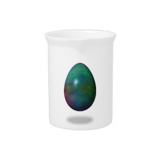 ¡Pascua feliz! - Huevo verde Jarra