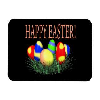 Pascua feliz iman de vinilo