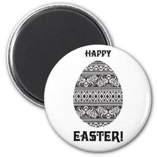 Pascua feliz iman de nevera