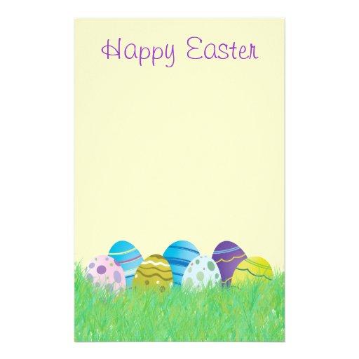 Pascua feliz inmóvil  papeleria de diseño