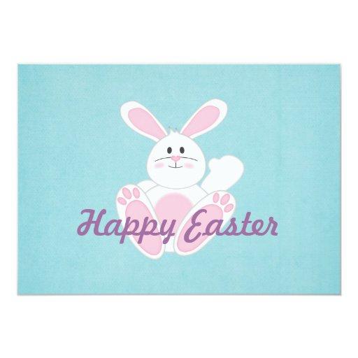 Pascua feliz invitación 12,7 x 17,8 cm