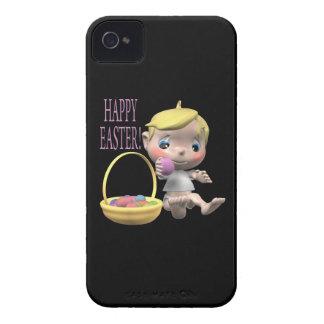 Pascua feliz iPhone 4 Case-Mate carcasa
