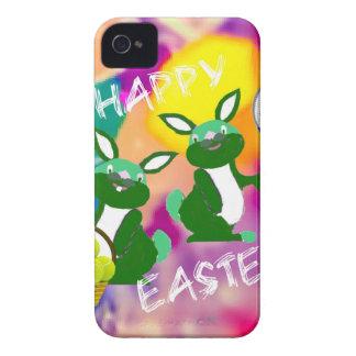 Pascua feliz iPhone 4 Case-Mate protectores
