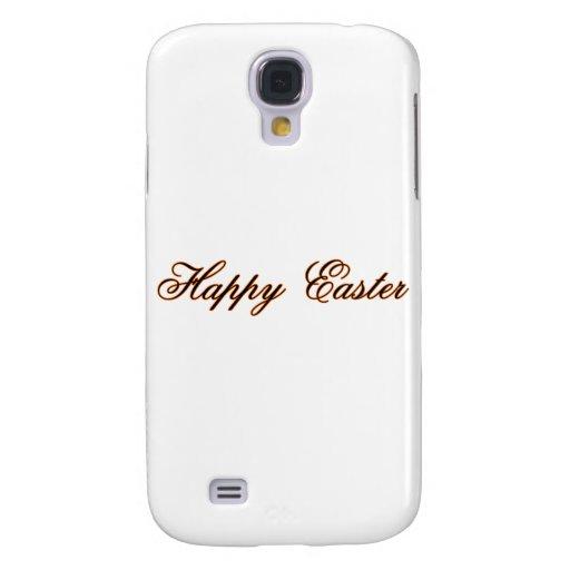 Pascua feliz l naranja los regalos de Zazzle del M Funda Para Galaxy S4