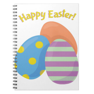 Pascua feliz libro de apuntes con espiral