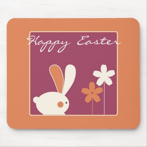 Pascua feliz Mousepad