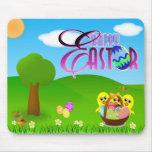 Pascua feliz Mousepad Alfombrilla De Raton