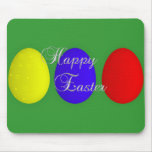 Pascua feliz Mousepad Alfombrillas De Ratones