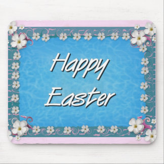 Pascua feliz mousepads