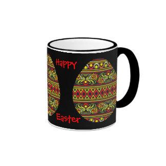 ¡Pascua feliz! _mug. Taza De Dos Colores