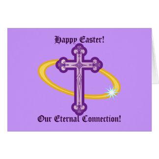 ¡Pascua feliz! ¡Nuestra conexión eterna!! - Tarjeta De Felicitación